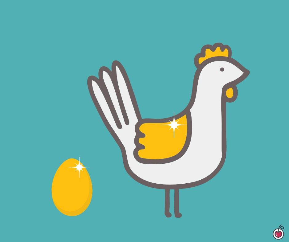 come essere produttivi come la gallina dalle uova d'oro di esopo