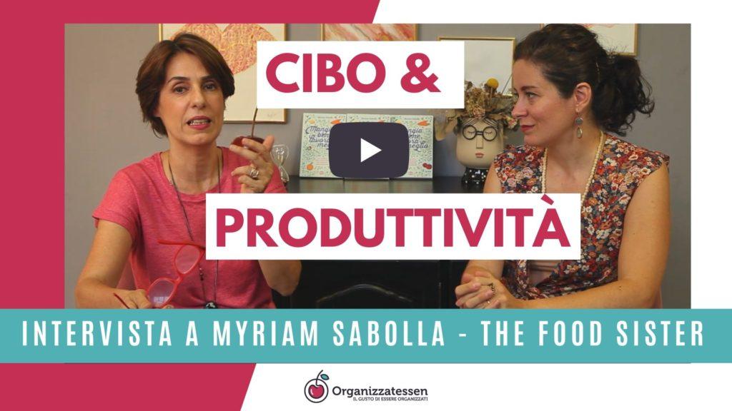 cibo e produttività
